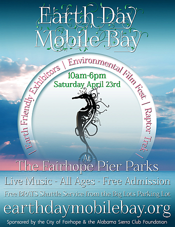 2016 Earth Day Mobile Bay Poster